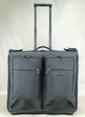 "Used Dakota by Tumi Large Green 24"" Wheeled Garment Bag Rolling Wardrobe"
