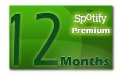 12 Months Spotify premium Account with email access