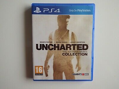 Uncharted: The Nathan Drake Collection for PS4 in MINT Condition