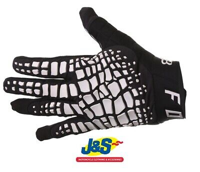 Fox 360 Grav Motorcross gloves Motorbike MX Off-Road BMX MTB Downhill