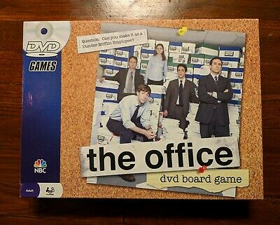 The Office DVD Board Game Trivia Dunder Mifflin Pressman 2008 NBC Used TV
