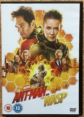 Ant-Man And The Wasp Dvd - Watched Once