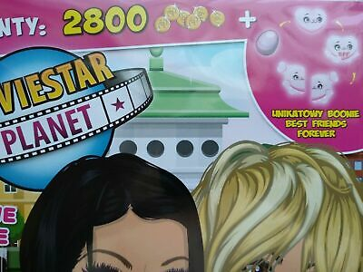 NEW Moviestar Planet game 1 code: 2800 SC + Unique Boonie Best Friends Forever