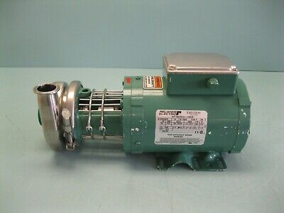 "1-1/2"" Tri-Clover C114MD56T-10ND-01Y-25PL Centrifugal Pump 3/4 HP NEW E20 (2505)"