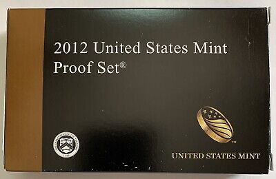 2012 United States US Mint 14pc Clad Coin Proof Set