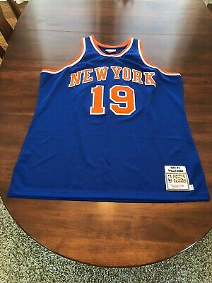 aacac859c379 New York Knicks Willis Reed Mitchell And Ness Hardwood Classics Jersey Size  XXL