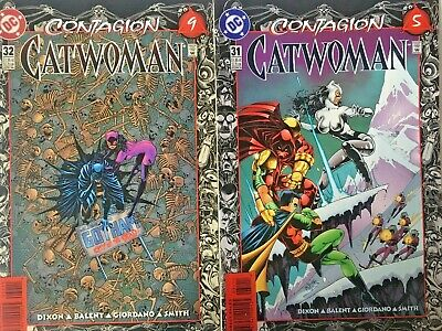 Catwoman Contagion 31/32 2 Issue Run 1996 Dc Comics. Ballant Story. Volume 1