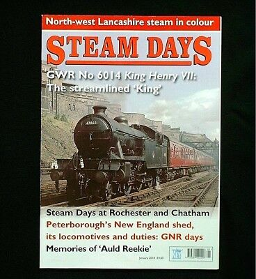 Steam Days Magazine January 2018
