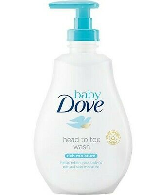 Baby Dove Rich Moisture Head To Toe Wash 200 ml