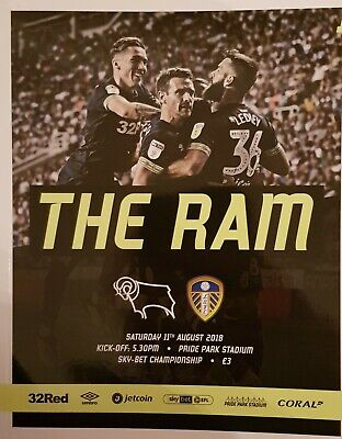 DERBY COUNTY v LEEDS UNITED 2018/19