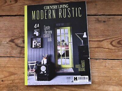 Country Living Modern Rustic Magazine bookzine Issue no 9 - Brand New