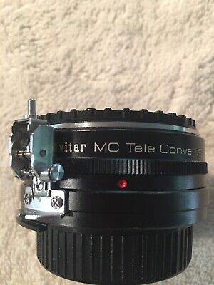 Vivitar MC Tele Converter 2X-3 For Nikon Mount, Includes Case