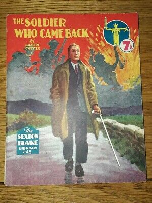 Sexton Blake Library No 48 (3rd Series Magazine Pulp War Detective Vintage Crime