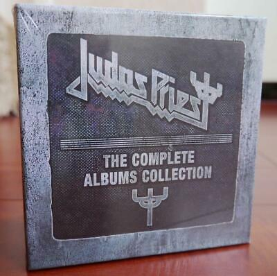 """NEW Judas Priest """"The Complete Albums Collection"""" 19 CD Box Set Free shipping"""