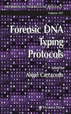 Forensic DNA Typing Protocols (English) Paperback Book Free Shipping!