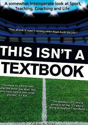 This Isn't a Textbook by Kelvin Giles (English) Paperback Book Free Shipping!