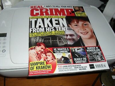 Real Crime Magazine Issue 043TAKEN FROM HIS TENT
