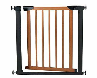 Cuggl Metal and Wood Pressure Fit Safety Gate