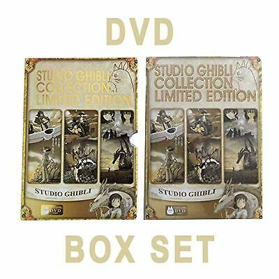 Studio Ghibli Hayao Miyazaki Limited Gold Edition 18 Movie DVD Collection BoxSet