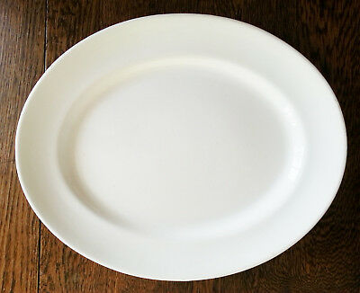 Antique  LARGE Oval Plate