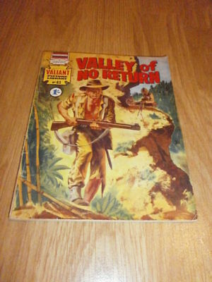 RARE VINTAGE VALIANT PICTURE LIBRARY BOOK No. 83 VALLEY OF NO RETURN