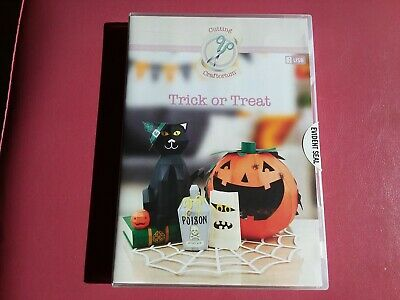 Cutting Craftorium 'Trick Or Treat' Svg Usb Inc 200+ Decorative Backing Papers