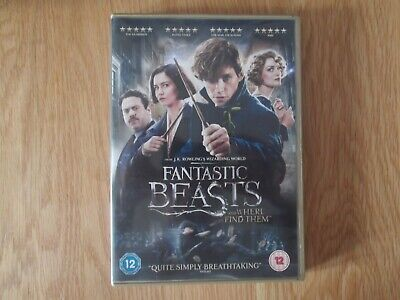 Fantastic Beasts And Where To Find Them Dvd Watched Once Excellent Condition