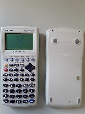 Casio fx 9750G PLUS graphing calculator Working, Batteries Included