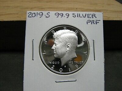 2019 S Silver (99.9) Proof Kennedy Half Dollar