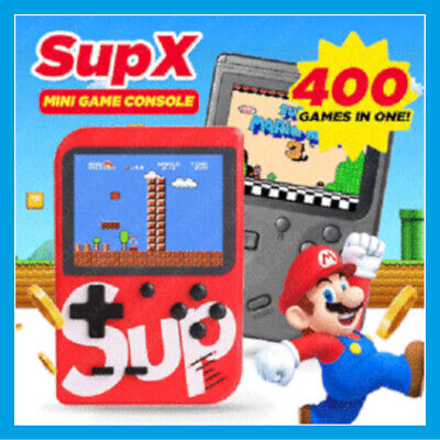 ARCADE GAME BOX 400In1 Sup400 GAMES CLASSICI SUPER MARIO VIDEOGIOCO TASCABILE