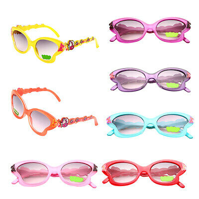 Children Girls Butterfly Designer Sunglasses Goggles Holiday UV400 Protection
