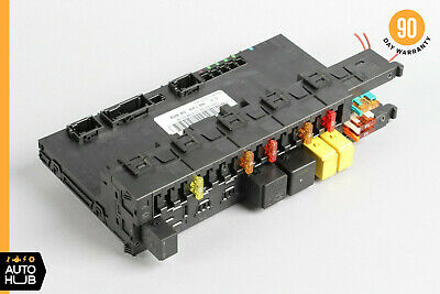 05-11 mercedes r171 slk350 slk280 rear sam module relay fuse box 1715450701  oem