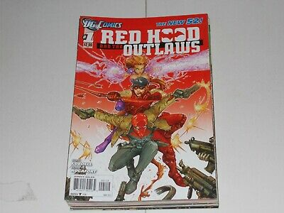New 52 Redhood and the Outlaws 1 (2011) 2nd Print Variant