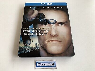 Minority Report (Tom Cruise) - Édition Steelbook - Film 2002 - Bluray - FR/EN
