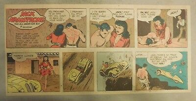 Jack Armstrong The All American Boy by Bob Schoenke 3/21/1948 Third Size Page !