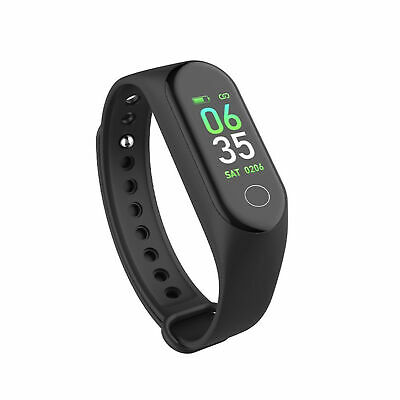Smart Wristband Bracelet Watch OLED Touch Screen 50m Waterproof for Mi Band 3