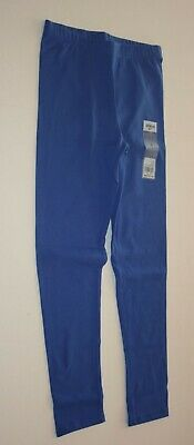New OshKosh Girls Peri Blue Solid Leggings Pants NWT  4 5 8 10 12 14 year
