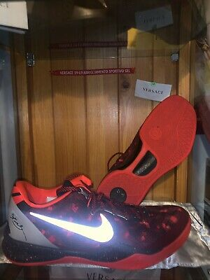 the latest 6ddbf 84eb0 Nike Kobe 8 VIII YOTS Year Of The Snake Red 555035 661 Size 10 Basketball  shoe