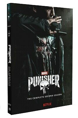 The Punisher Season 2 DVD Final Series Brand New & Sealed Post UK Compatible