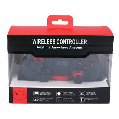 X5Pro Wireless Bluetooth Game Controller Joystick Mobile Phone Gamepad PUBG DL