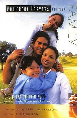 Powerful Prayers for Your Family by David Kopp (English) Paperback Book Free Shi