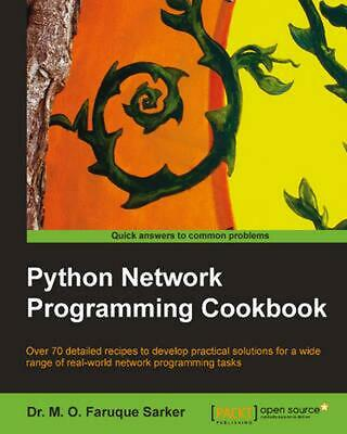 Python Network Programming Cookbook by M. Omar Faruque Sarker (English) Paperbac