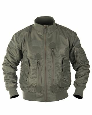 Mil-Tec US Tactical Flight Jacket Military Olive Taille L