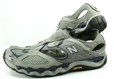 a6c58084b5f7 Mens Sz 10.5 D Grey Blue New Balance 820 H2 Flow Vibram Sole Water Shoes  SM820GN