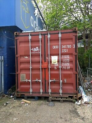 20 x 8ft Container with Lockbox (Collect London) - Priced for Quick Sale