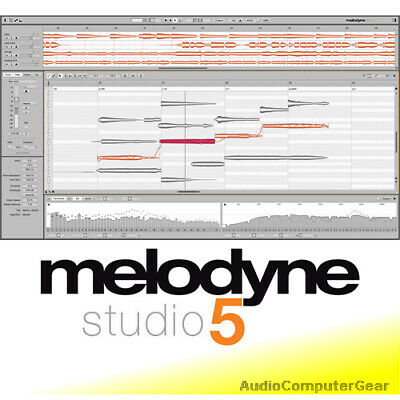 Celemony MELODYNE 4 STUDIO Pitch+Time Editing Shifting Audio Software Plugin NEW