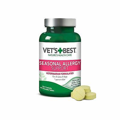 VET'S BEST ALLERGY Medicine for Dogs Itchy Skin Rash Itch