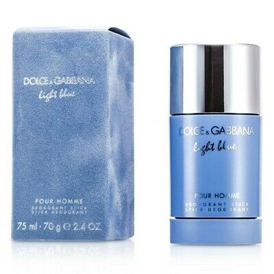 D&G LIGHT BLUE DEO STICK homme 75ml con su caja y celofán