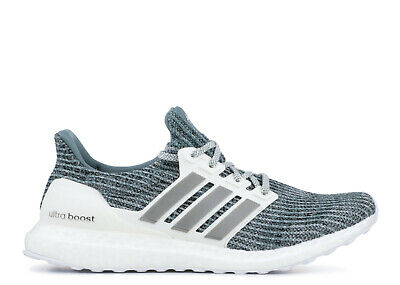 NEW ADIDAS Ultraboost PARLEY Running Shoes WHITE SILVER CM8272 LTD For Men's