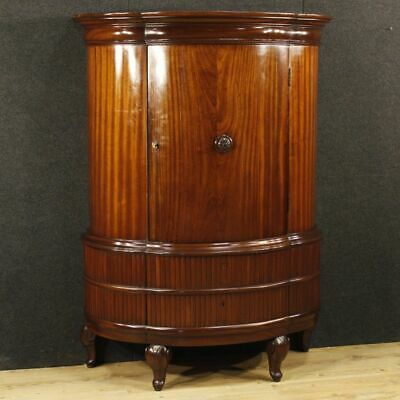Armoire wardrobe French furniture mahogany wood bedroom antique style 900